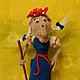 """Вязание ручной работы. Ярмарка Мастеров - ручная работа. Купить Мастер-класс """"Баба Яга"""". Handmade. Игрушка крючком"""