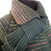 "Одежда handmade. Livemaster - original item Coat with a scarf ""Daphne"". Handmade."