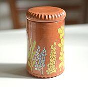 Посуда ручной работы. Ярмарка Мастеров - ручная работа Банка с суккулентами. Handmade.