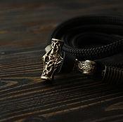 Украшения handmade. Livemaster - original item Thor`s hammer bracelet with Thor`s hammer. Handmade.