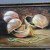 """Картины и панно ручной работы. Ярмарка Мастеров - ручная работа """"Три орешка для Золушки"""". Handmade."""