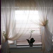 Для дома и интерьера handmade. Livemaster - original item The curtain to the kitchen proffi 6 in 1. Handmade.