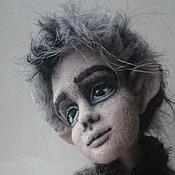 Куклы и игрушки ручной работы. Ярмарка Мастеров - ручная работа Шерстяной волчек. Handmade.