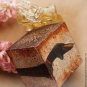 Для домашних животных, ручной работы. Ярмарка Мастеров - ручная работа Поймай себя за хвост (с) Такса. Кубик деревянный подарочный. Handmade.