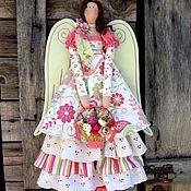 Куклы и игрушки ручной работы. Ярмарка Мастеров - ручная работа Винтажный тильда ангел Лето. Handmade.