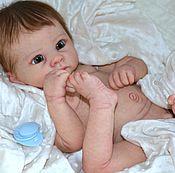 Куклы и игрушки ручной работы. Ярмарка Мастеров - ручная работа кукла реборн Андрюшка2, с виниловым торсом. Handmade.