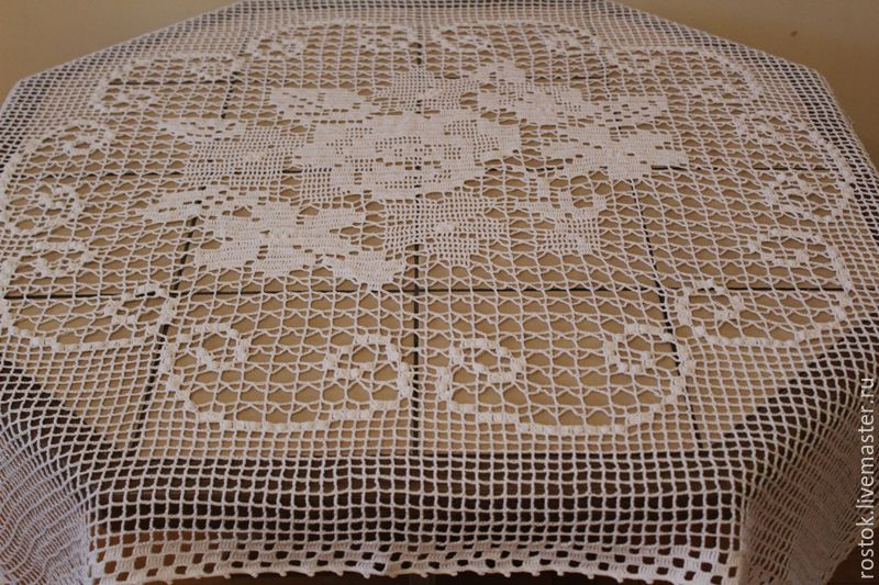 Tablecloth 'Bouquet of flowers', Tablecloths, Permian,  Фото №1