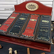 """Для дома и интерьера ручной работы. Ярмарка Мастеров - ручная работа """"Сafe de Paris"""" короб, бюро. Handmade."""