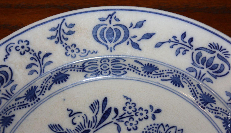 Order Antique plate Blue onion(Zwiebelmuster) Villeroy \u0026 Boch ... & Antique plate Blue onion(Zwiebelmuster) Villeroy \u0026 Boch Dresden ...