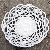 Посуда handmade. Livemaster - original item Elephant White openwork. Handmade.