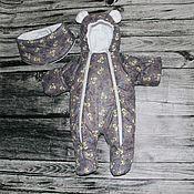 Комбинезоны ручной работы. Ярмарка Мастеров - ручная работа Комбинезон сезон зима. Handmade.