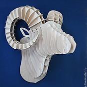 Для дома и интерьера handmade. Livemaster - original item The head of a RAM. Handmade.