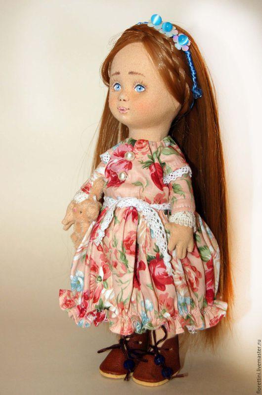 Коллекционные куклы ручной работы. Ярмарка Мастеров - ручная работа. Купить Интерьерная кукла Анна. Handmade. Кукла ручной работы