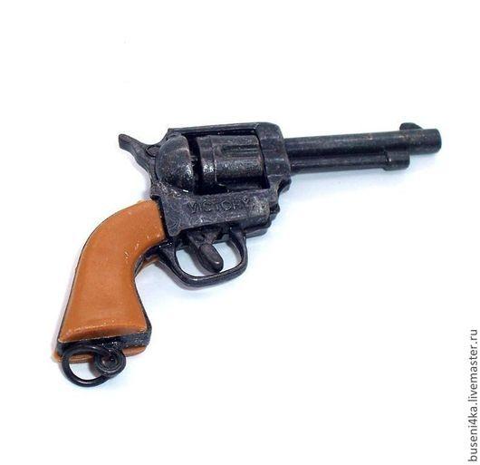 Куклы и игрушки ручной работы. Ярмарка Мастеров - ручная работа. Купить Подвеска Пистолет №6. Handmade. Пистолет, пистолет миниатюра