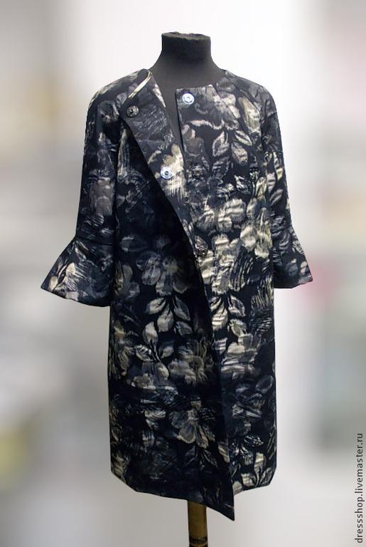 """Верхняя одежда ручной работы. Ярмарка Мастеров - ручная работа. Купить Легкое пальто """" Вечер в теплых тонах"""". Handmade."""