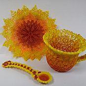 Подарки к праздникам ручной работы. Ярмарка Мастеров - ручная работа солнечное чаепитие. Handmade.