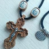 Купить Крестик нательный Ярмарка Мастеров - ручная работа, handmade