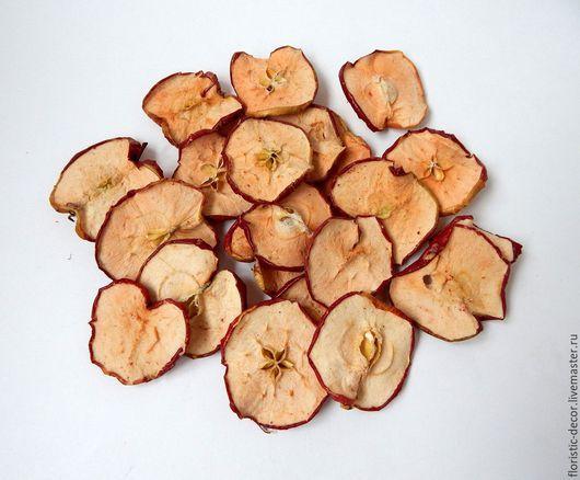 Материалы для флористики ручной работы. Ярмарка Мастеров - ручная работа. Купить Яблоки сушеные. Handmade. Разноцветный, яблоки, яблоки сушеные