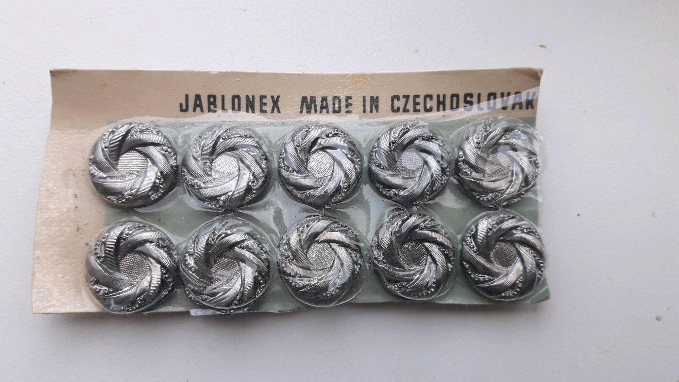 Винтаж: Пуговицы Чехословакия новые, Винтажные сувениры, Волгоград,  Фото №1