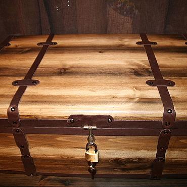 Мебель ручной работы. Ярмарка Мастеров - ручная работа Ящик-сундук для хранения вещей. Handmade.