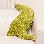 """Для дома и интерьера ручной работы. Ярмарка Мастеров - ручная работа подушка-тень """"Гомункулус"""". Handmade."""