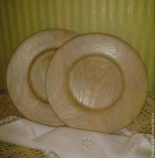 Тарелки ручной работы. Ярмарка Мастеров - ручная работа. Купить тарелка Дубовый Аромат. Handmade. Бежевый, посуда ручной работы