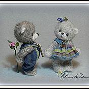 """Куклы и игрушки ручной работы. Ярмарка Мастеров - ручная работа Мишки """"I love you"""". Handmade."""