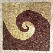 """Картины и панно ручной работы. Ярмарка Мастеров - ручная работа Панно """"Кофе"""". Handmade."""