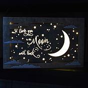 Для дома и интерьера handmade. Livemaster - original item Light panel