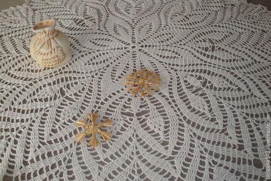 Текстиль, ковры ручной работы. Ярмарка Мастеров - ручная работа. Купить Мини-скатерть 850 грн.. Handmade. Бежевый