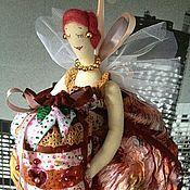 Куклы и игрушки ручной работы. Ярмарка Мастеров - ручная работа Шоколадница (ночная фея соблазнов :-)). Handmade.
