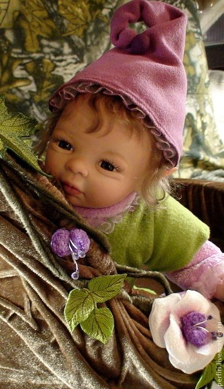 Куклы-младенцы и reborn ручной работы. Ярмарка Мастеров - ручная работа. Купить Фея Violet. Handmade. Бежевый, реалистичная кукла