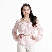 Одежда ручной работы. Ярмарка Мастеров - ручная работа 277: летняя блузка женская, женская туника на лето, свободная блузка. Handmade.