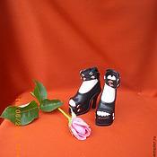 Куклы и игрушки ручной работы. Ярмарка Мастеров - ручная работа Туфельки для БЖД куклы. Handmade.