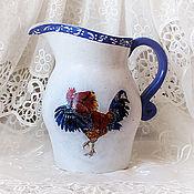 Посуда handmade. Livemaster - original item Ceramic jug