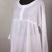 Одежда ручной работы. Ярмарка Мастеров - ручная работа Блуза из марлевки Морской бриз. Handmade.