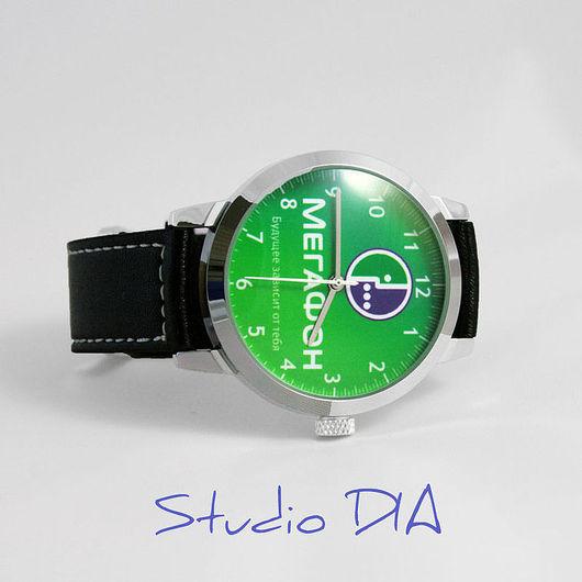 Часы. Наручные Часы. Часы На Заказ. Оригинальные Дизайнерские Часы Под Заказ - Мегафон. Студия Дизайнерских Часов DIA.