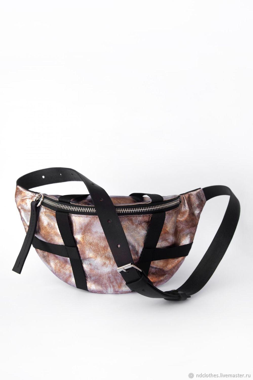 Waist bag Samurai (Golden-rusty), Waist Bag, Moscow,  Фото №1