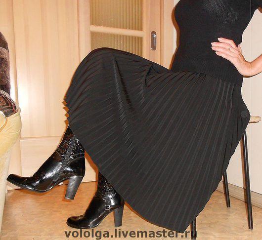 Юбки ручной работы. Ярмарка Мастеров - ручная работа. Купить юбка-гофре (повседневный вариант). Handmade. Гофре, костюмная ткань
