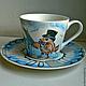 """Сервизы, чайные пары ручной работы. Ярмарка Мастеров - ручная работа. Купить чайная пара """"Чижик-Пыжик"""". Handmade. Разноцветный"""