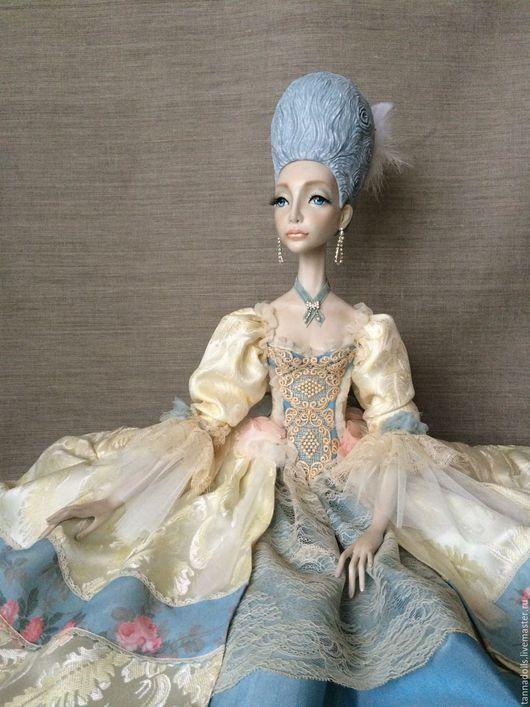 """Коллекционные куклы ручной работы. Ярмарка Мастеров - ручная работа. Купить Будуарная кукла """"Тереза"""". Handmade. Будуарная кукла, подарок"""