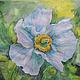 Картины цветов ручной работы. Ярмарка Мастеров - ручная работа. Купить Мак гималайский. Handmade. Цветы, маки, картина в подарок