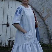 Одежда ручной работы. Ярмарка Мастеров - ручная работа Джинса и жемчуга. Handmade.