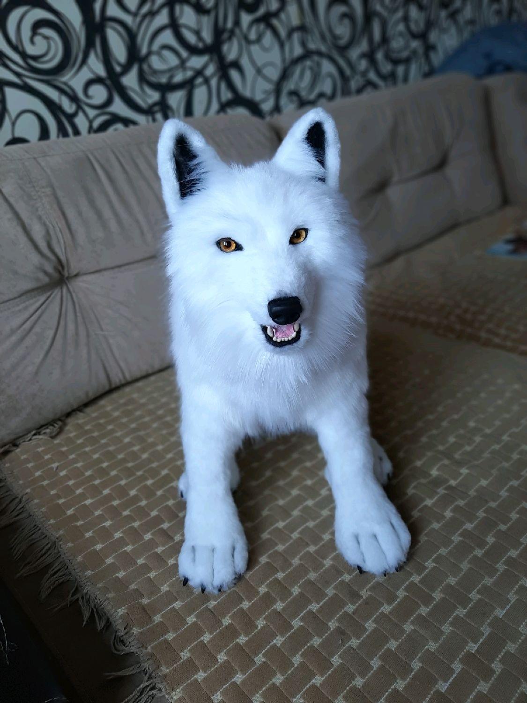 Полярный волк, Мягкие игрушки, Нижний Новгород,  Фото №1