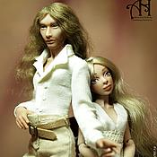 Куклы и игрушки handmade. Livemaster - original item Diana and Paul (12,5/13,5 cm). Handmade.