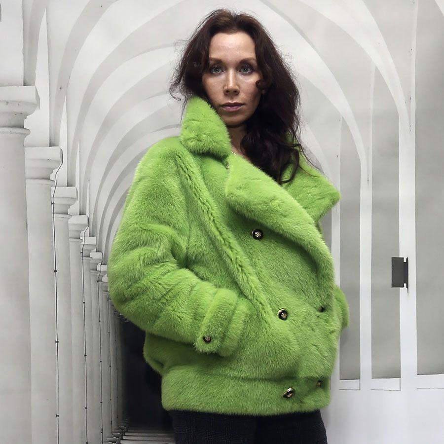 """Шуба из норки """"Яблоко"""", Шубы, Москва, Фото №1"""