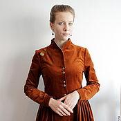 """Одежда ручной работы. Ярмарка Мастеров - ручная работа Платье-пальто """"Соколиная охота"""". Handmade."""