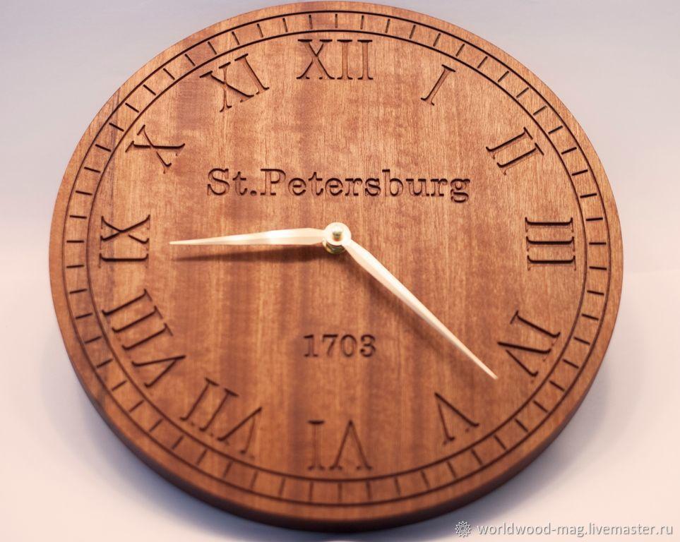 "Часы ""St. Petersburg"", Часы классические, Санкт-Петербург,  Фото №1"
