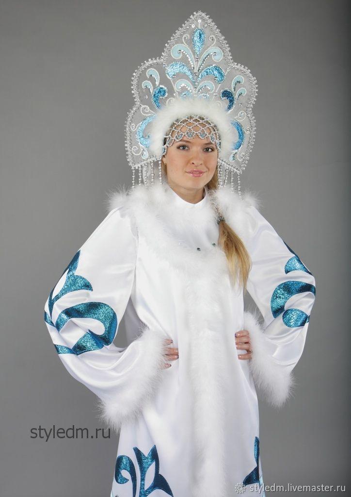 Самый красивый костюм снегурочки картинки