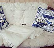 Для дома и интерьера ручной работы. Ярмарка Мастеров - ручная работа Комплект подушечек. Handmade.